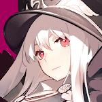 帽子をかぶった白髪の少女