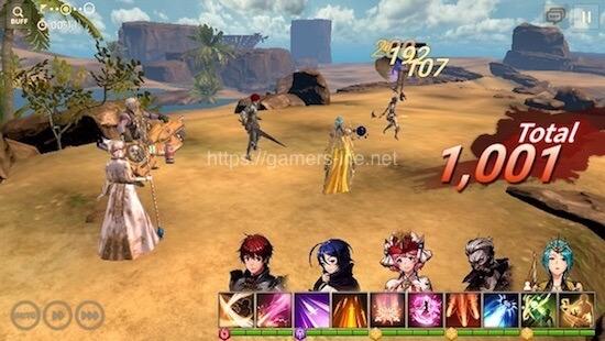 オーバーヒットのゲーム画面